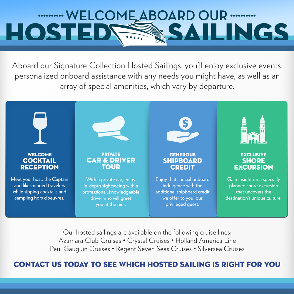 hosted sailings infographic